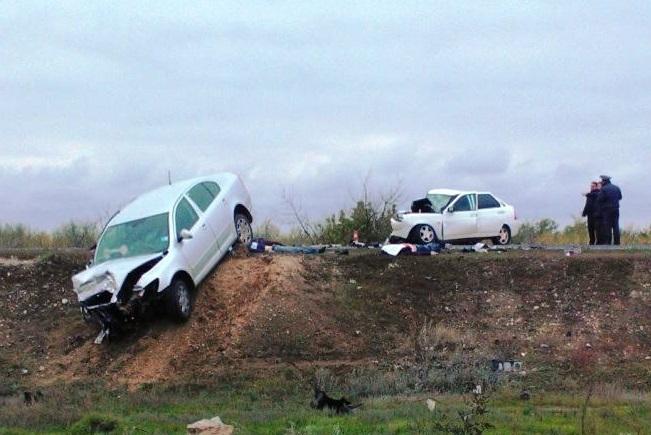 653 км авария ДТП Р-228 Р228 Сызрань-Саратов-Волгоград